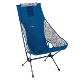 Helinox Chair Two, blue paisley/navy